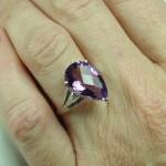 Amethyst Ring February Birthstone